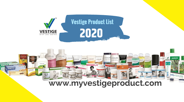 vestige product list