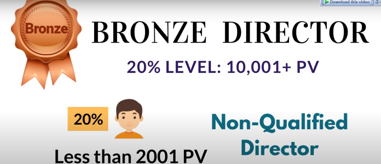 Bronze Director (non qualified)